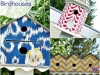 Fabric Birdhouses