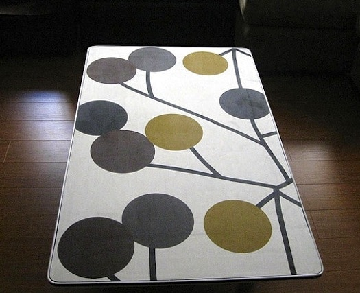 Fabric Coffee Table