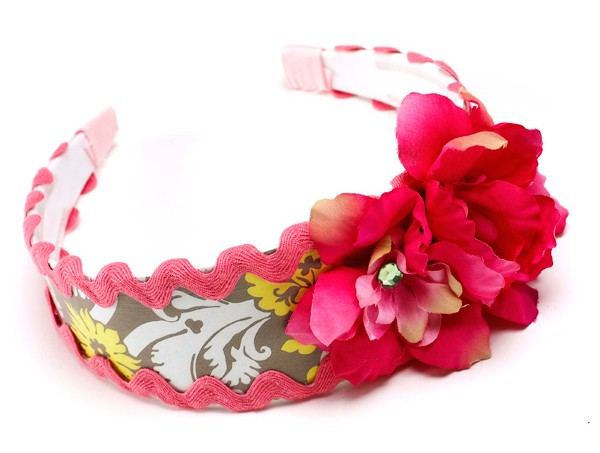Make this spring fling headband!