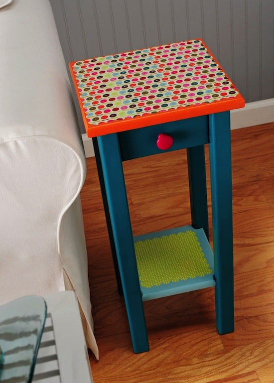 Mod Podge table
