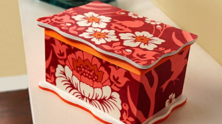 Easy Fabric Covered DIY Jewelry Box