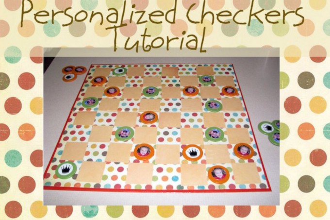 Personalized checkers tutorial