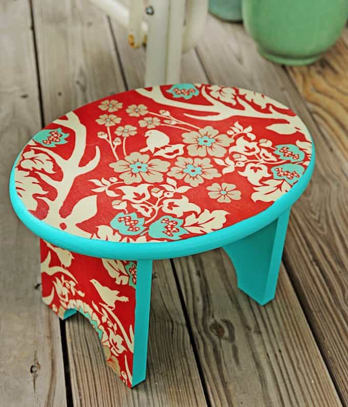 Deer valley DIY stool