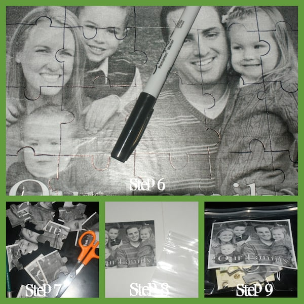 A photo puzzle makes a great gift idea for any time of year. Use photos of kids, pets or your favorite places. The receiver will love it!