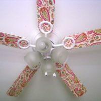 Decorate a Ceiling Fan