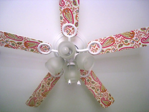 Decorate a Ceiling Fan