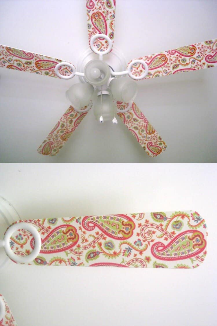 Decorate A Ceiling Fan With Mod Podge Mod Podge Rocks