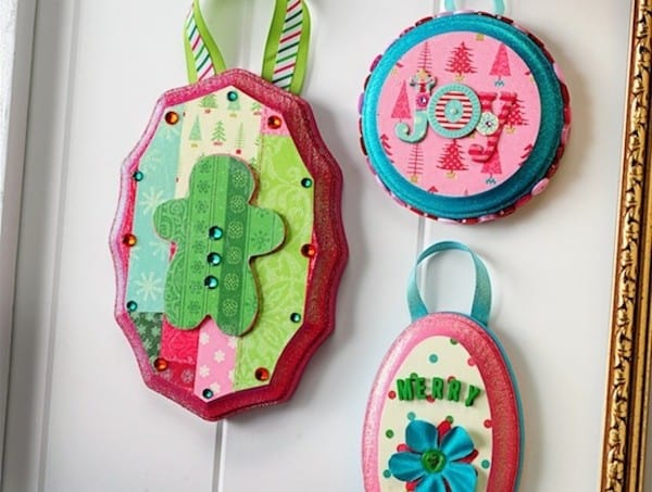 Mini DIY Christmas ornaments