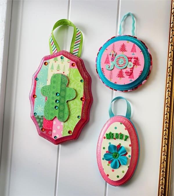 Mini DIY Christmas ornaments