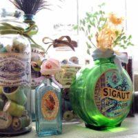 DIY Vintage Bottles for Home Decor