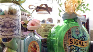 DIY Vintage Bottles for Home Decor