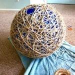 leahs pendant light ball covered