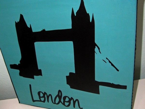 London canvas that you can customize