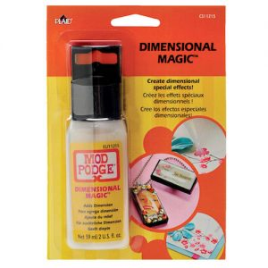 What is Mod Podge Dimensional Magic? This acrylic epoxy-like product is great for making jewelry, gifts and more. Learn more about it here!