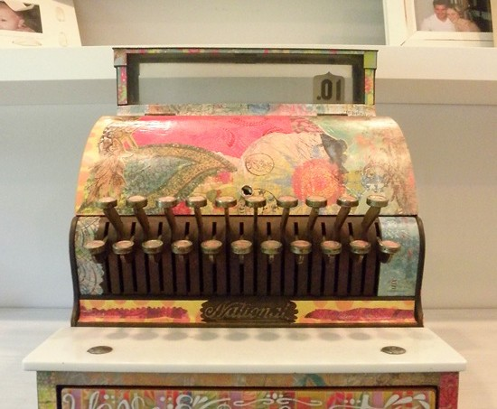 Mod Podge cash register