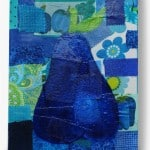 Mod Podge collage pear canvas