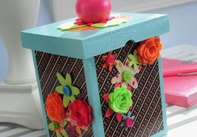 Sizzix Blog Hop Brenda Box