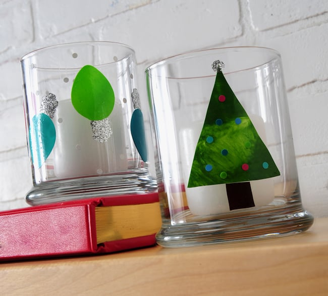 Make Holiday Glass Clings