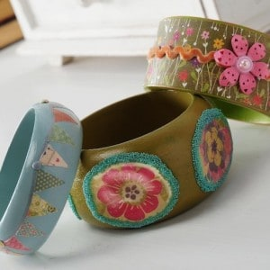 How to Make Bangle Bracelets