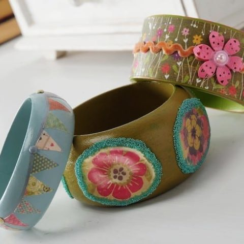 Decorate Bangle Bracelets