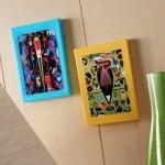 Charley Harper Mod Podge canvas art