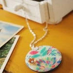 Boden floral Dimensional Magic pendant