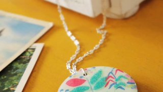Floral Dimensional Magic Necklace DIY