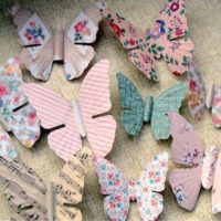Vintage Magnets: Easy Butterfly Decorations