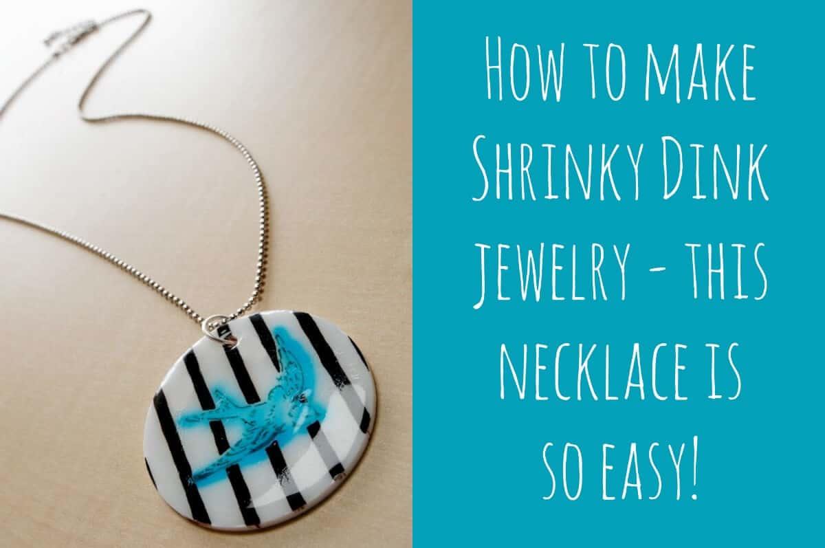Diy Shrinky Dink Pendant Necklace Mod Podge Rocks