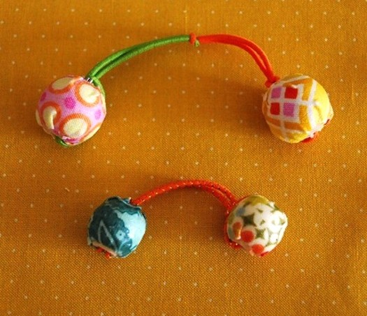 Mod Podge hair bobbles
