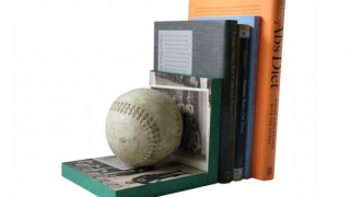 Make Baseball Bookends (and Hit a Home Run)