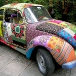 Mod Podge fabric car