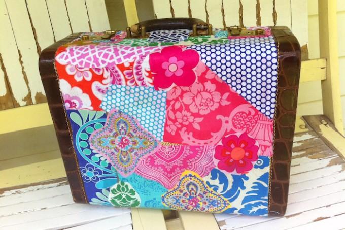 Mod Podge suitcase