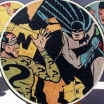 Crafts for men: comic book DIY coasters