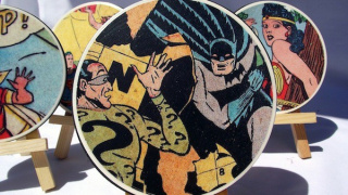 Crafts for Men: Comic Book Coasters