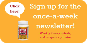 Mod Podge Rocks newsletter
