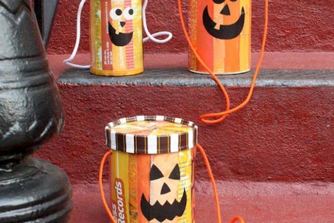 Mod Podge Halloween totes