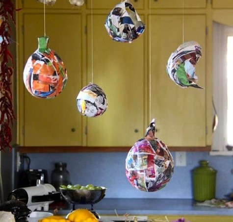 Mod Podge kids pumpkins