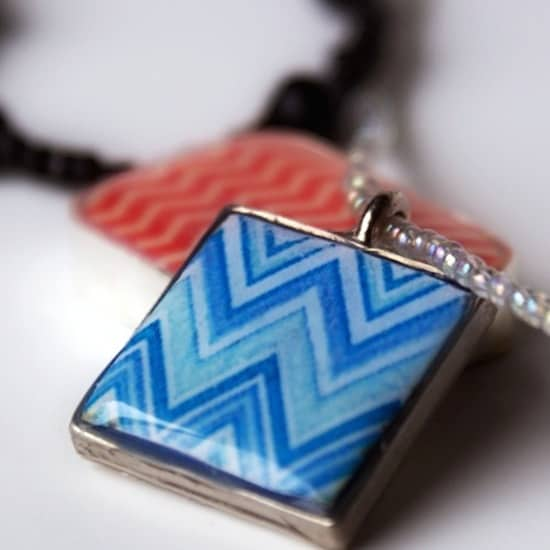 Polymer Clay Jewelry: Image Transfer Pendants