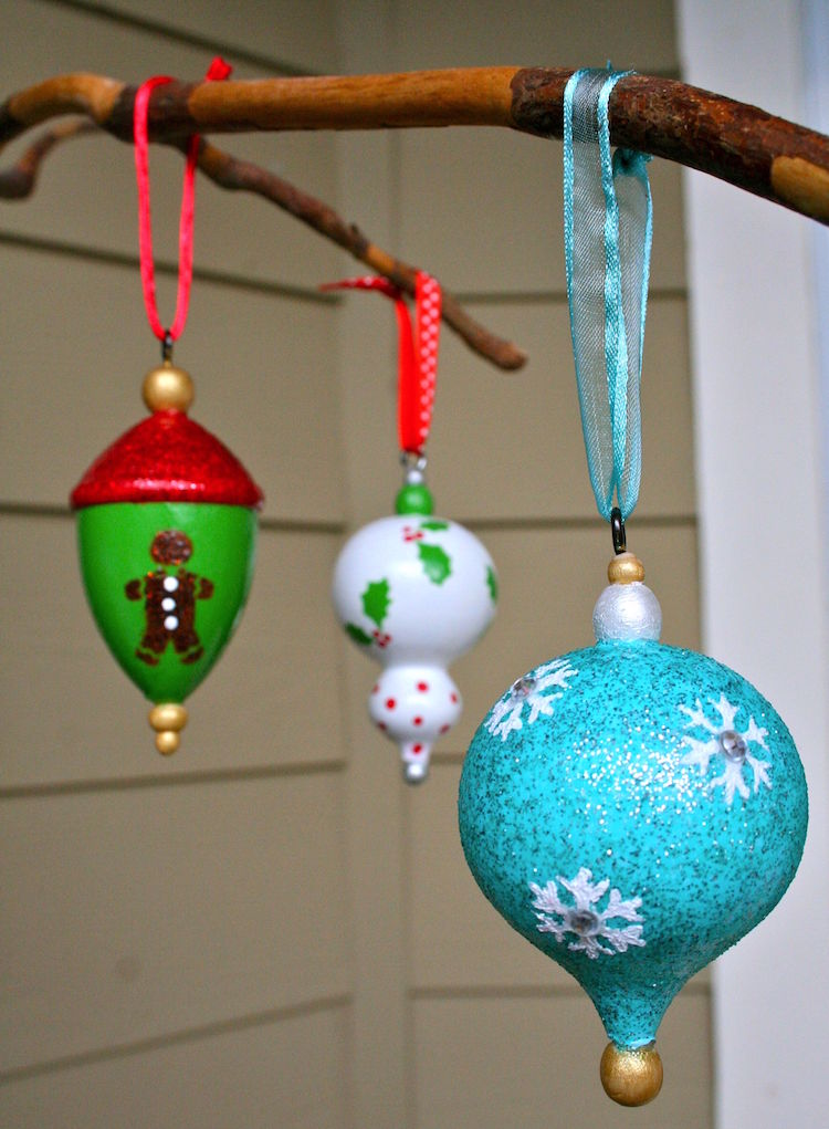DIY Martha stewart Christmas ornaments