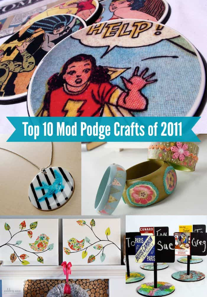 Top 10 Mod Podge crafts of 2011