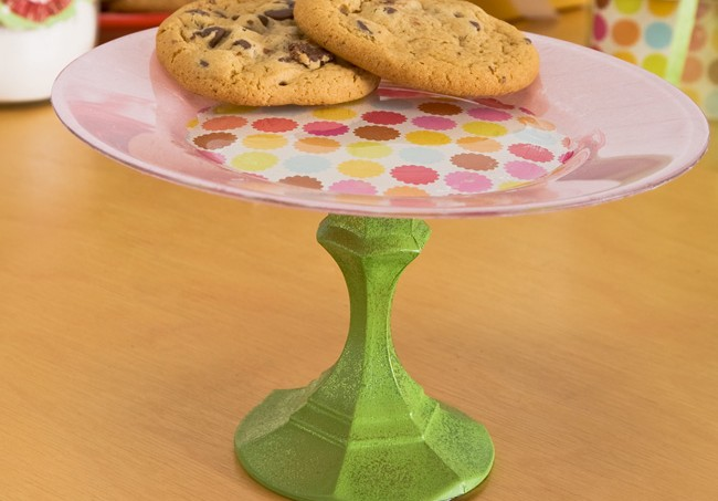 DIY party cookie plate