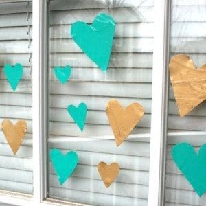 Valentine's craft for kids: heart ...