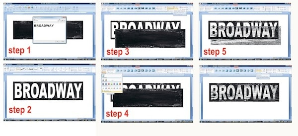 Sign Creation Steps