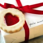 DIY faux cookie Valentine's Day gift tag