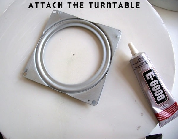 Attach Turntable