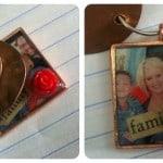 Handmade penny keychain for good luck