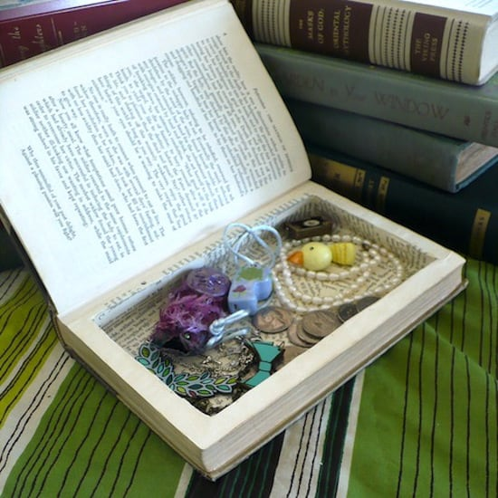 How to make a book safe with Mod Podge