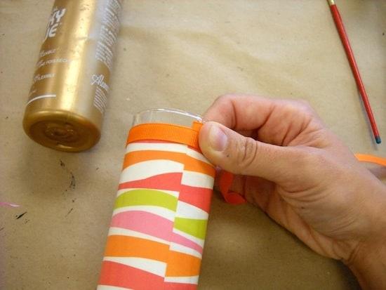 Measure the ribbon