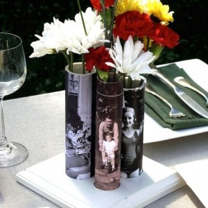 How to make photo vases